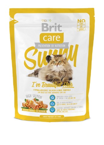 Корм Brit Care Cat Sunny I have Beautiful Hair, 0,4 кг Brit